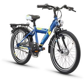 s'cool XYlite 20 3-S kinderfiets Kinderen Steel blauw